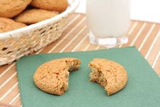 Free Oatmeal Cookies Royalty Free Stock Images - 17163849