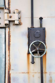 Free Locked Door Stock Photography - 17163852