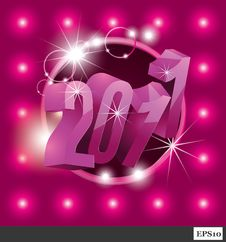 Free New Year 2011 Stock Images - 17165424