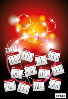 Free New Year 2011 Royalty Free Stock Image - 17165426