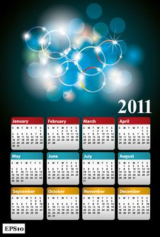 Free New Year 2011 Royalty Free Stock Photography - 17165427