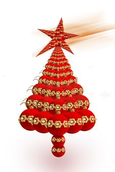 Free Christmas Tree Royalty Free Stock Images - 17165659