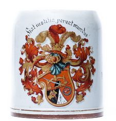 Free Beer Tankard With A Coat Of Arms Stock Photo - 17165770