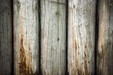 Free Weathered Logs Wall Stock Images - 17165914