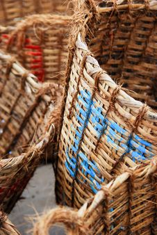 Free Weaven Baskets Royalty Free Stock Photos - 17165938
