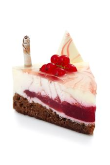 Currant Cheesecake Stock Images