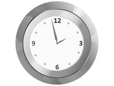 Free Clock On The Wall Stock Image - 17167611