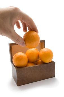 Free Mandarin Stock Photography - 17169782