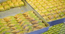 Free Turkish Baklava Royalty Free Stock Photo - 17169895