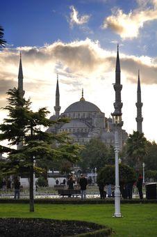 Free Blue Mosque Stock Photo - 17169970