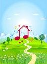 Free Dream House Stock Photo - 17170330