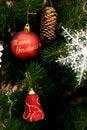 Free Christmas Tree Ornaments Royalty Free Stock Photo - 17178635