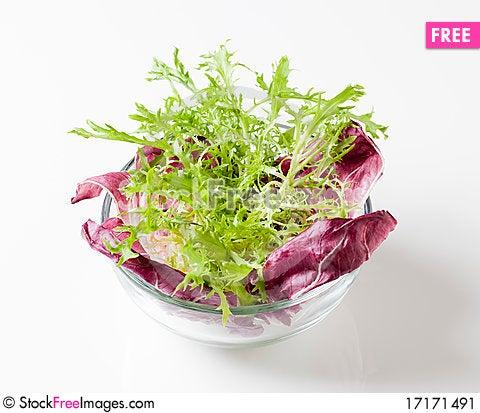 Free Salad Greens Stock Image - 17171491
