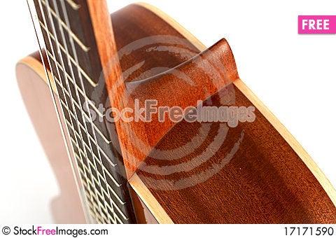 Free Guitar Neck Stock Photo - 17171590