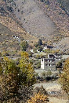 Free Tibetan Village Stock Photos - 17170033