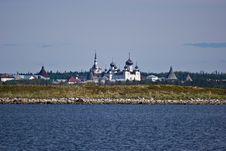 Free Panorama Of Solovetsky Orthodox Monastery Stock Photos - 17171653
