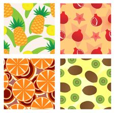 Free Fruit Seamless Royalty Free Stock Photos - 17172718