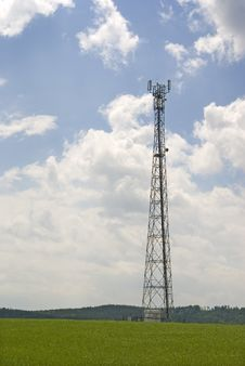 Free Antenna Pylon Communication Royalty Free Stock Photos - 17173598