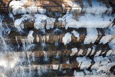 Free Frozen Water Stream Royalty Free Stock Photo - 17173775