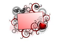 Illustration For Valentine Day Royalty Free Stock Photography