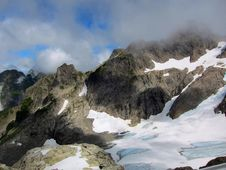 Free Clouds Above Queest-alb Glacier, Washington State. Royalty Free Stock Photography - 17174597