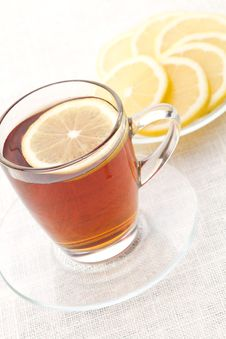 Free Lemon Tea Royalty Free Stock Photography - 17174697