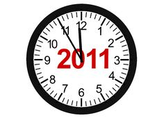 Free New Year 2011 Stock Photography - 17174732
