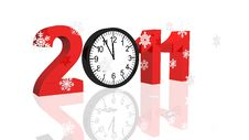 Free New Year 2011 Stock Photography - 17174742