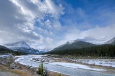 Free Ice Fields Parkway, Alberta Royalty Free Stock Image - 17175046