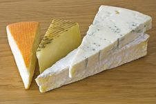 Cheeses Stock Images
