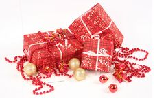 Free Red Christmas Present Stock Photo - 17175300