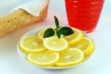 Lemon, Breakfast Stock Image