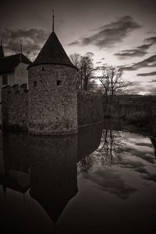 Free Misterious Castle Hallwil Stock Photos - 17175563