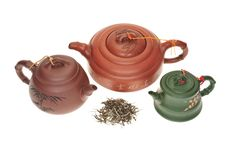 Free Chinese Teapots Stock Images - 17175634