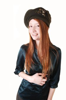 Free Girl With Hat. Stock Photo - 17176190