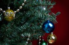 Free Christmas Tree Background Stock Photos - 17176573