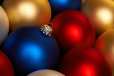 Free Christmas Balls Royalty Free Stock Photography - 17177127