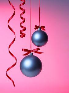 Free Christmas Balls Stock Image - 17177721
