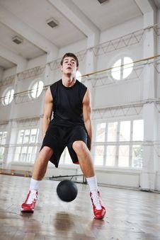 Magic Basketball Royalty Free Stock Photo