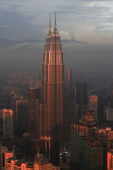 Free Petronas Twin Towers, Kuala-Lumpur Stock Photo - 17178300