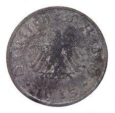Free 10 Reichspfennig - 2 Royalty Free Stock Photos - 17178868