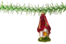 Christmas Decoration House Royalty Free Stock Images