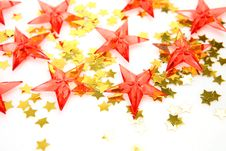 Free Scarlet Stars Stock Images - 17179864