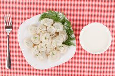 Free Boiled Dumplings Royalty Free Stock Photography - 17179917