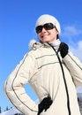 Free Enjoying Winter Sunny Day Stock Image - 17181151
