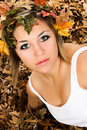 Free Woman Fall Beauty Stock Photography - 17184862