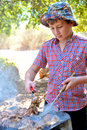 Free Steak On The Grill 2 Stock Images - 17186194