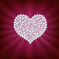 Free Heart. Vector Royalty Free Stock Photography - 17187807