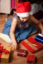 Free Girl Waits Gifts Stock Photos - 17188183
