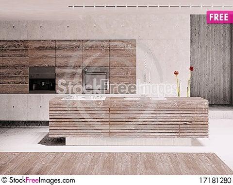 Free Kitchen. Stock Photo - 17181280